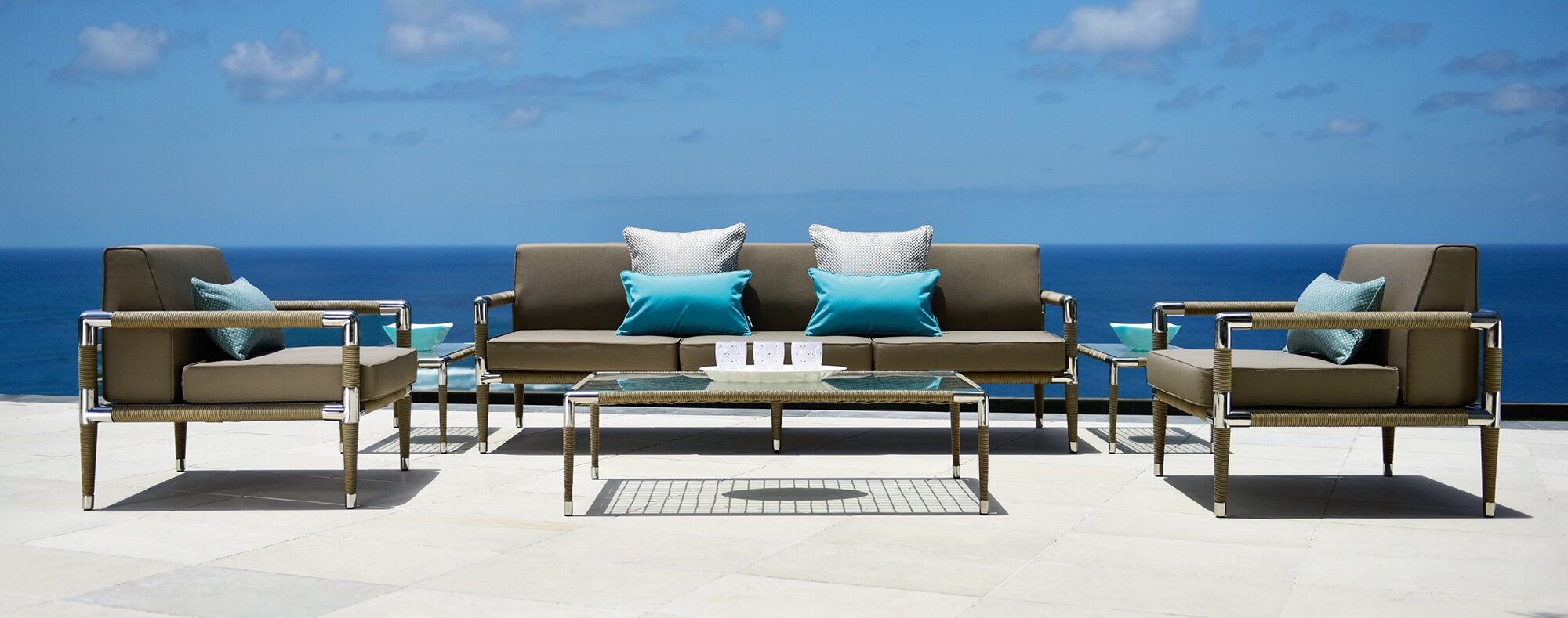 Marina outdoor luxury sofa set