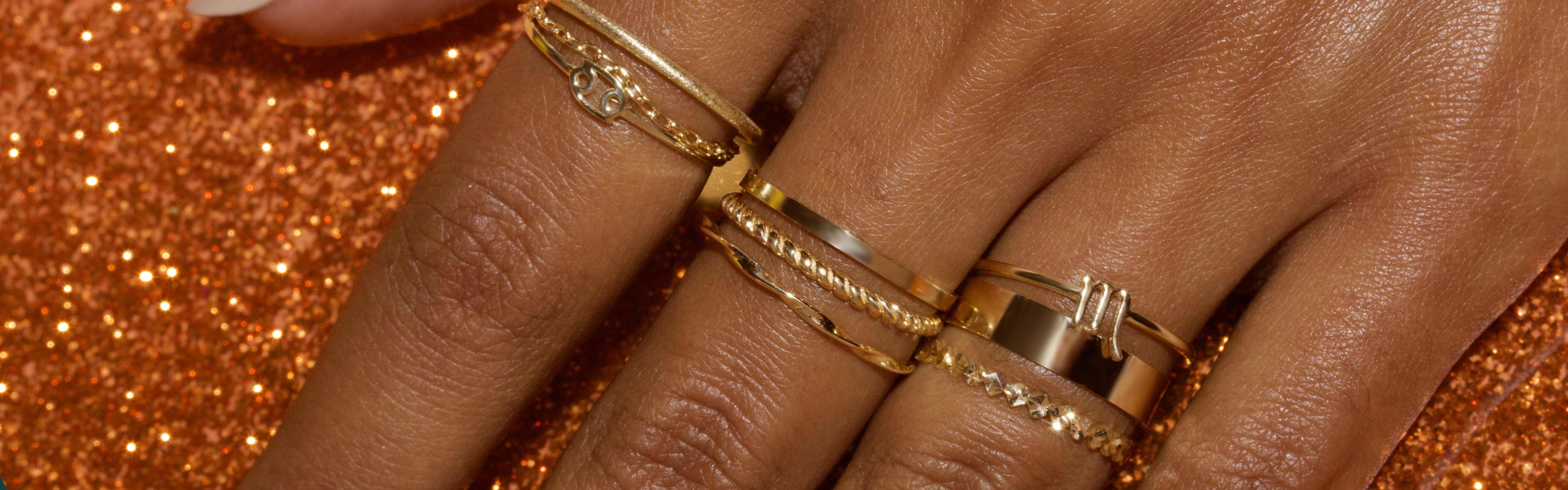 Gold Staples