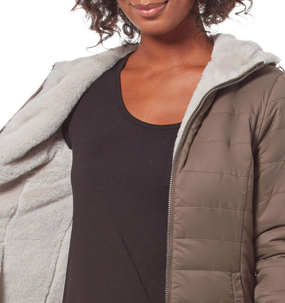 Women's Chalet Midweight Reversible Jacket
