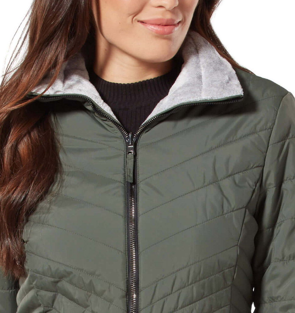 Free Country Womens Cloud Reversible Puffer Jacket