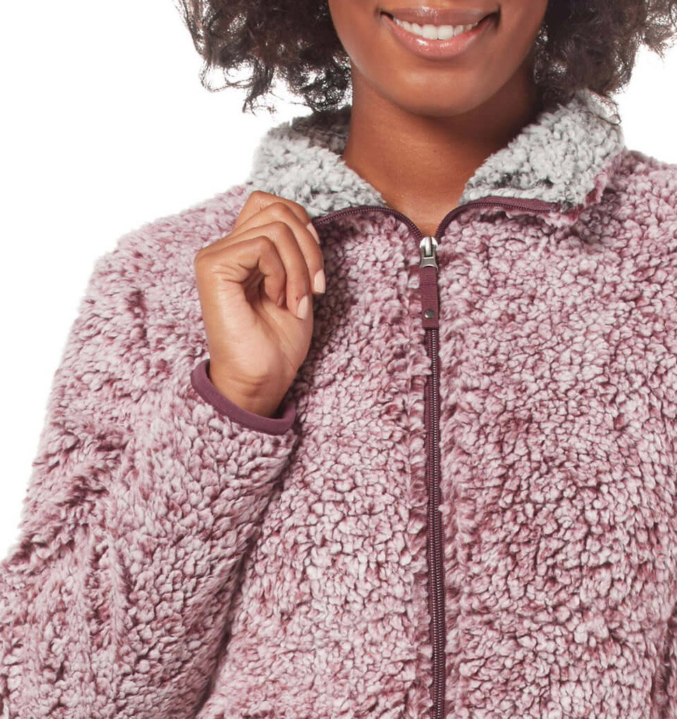 Women's Frosty Full Zip Pile Fleece Jacket