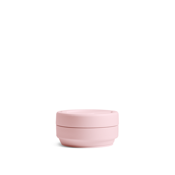 NEW! stojo pocket cup - tribeca collection (carnation)