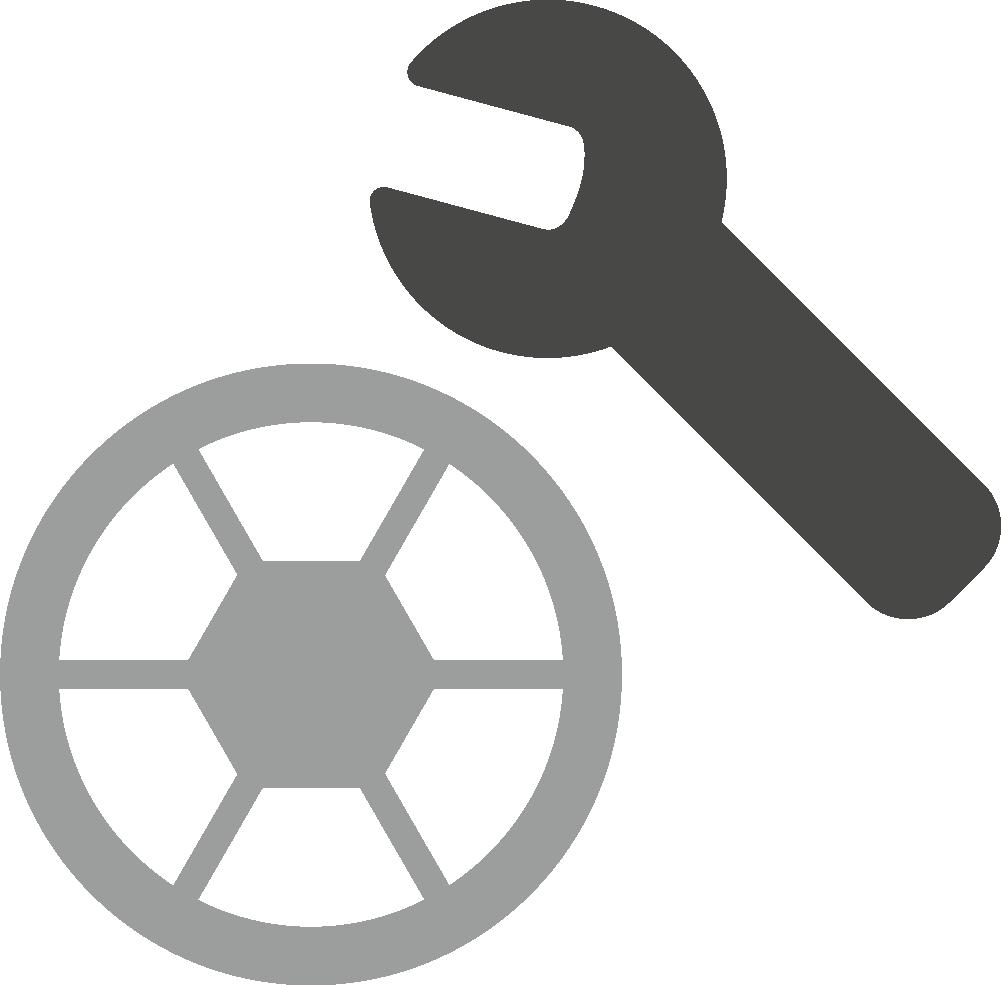 Replaceable wheels-Deuter