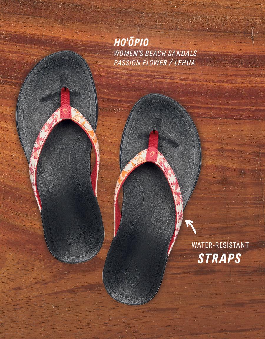 OluKai Womenʻs beach sandals Hoʻōpio