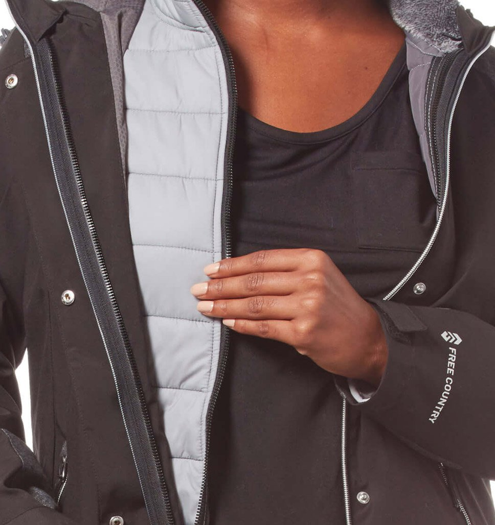 Women's Plus Size Fearless 3-in-1 Systems Jacket