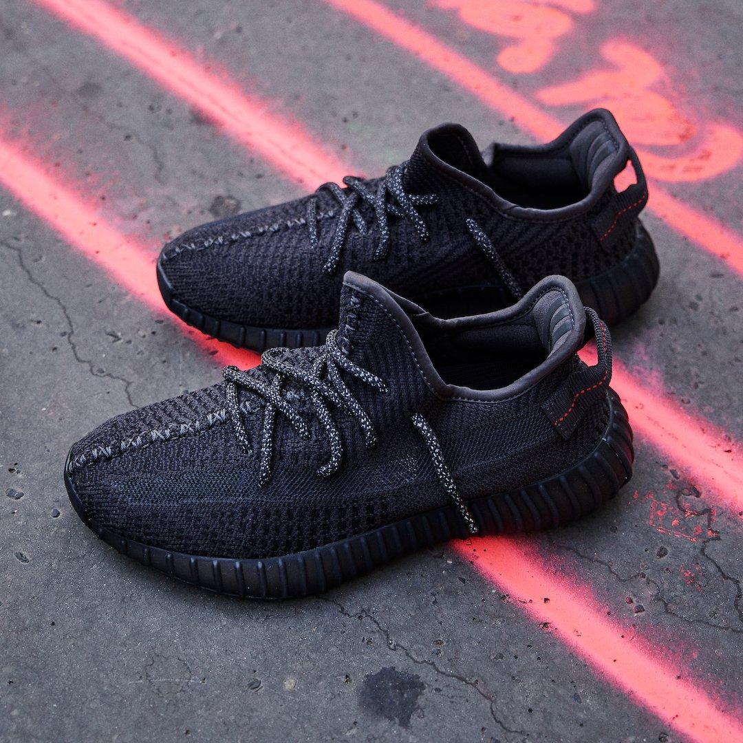 Adidas Yeezy Boost 350 V2 Black (Non-Reflective)