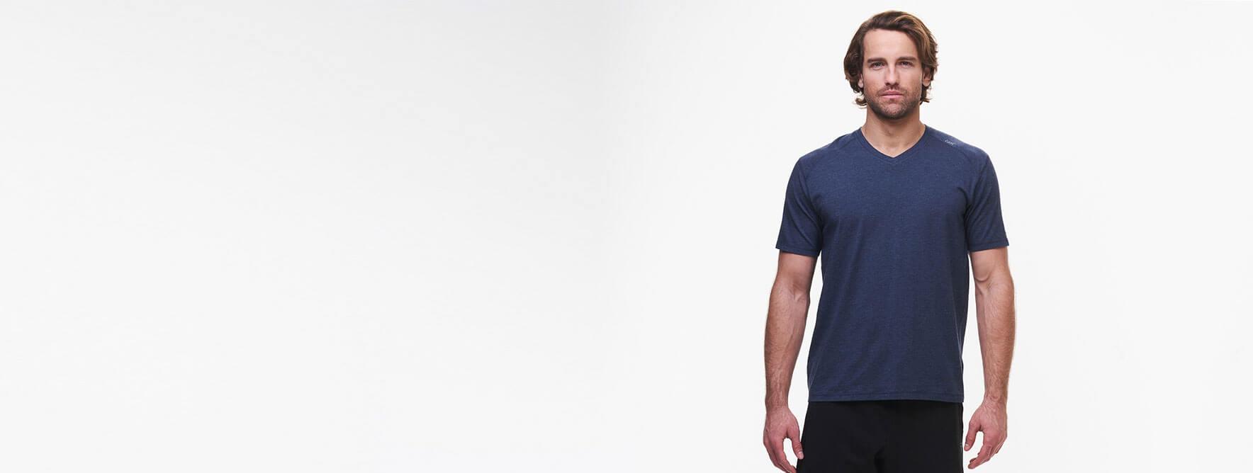 Men's V-neck t-shirt collection