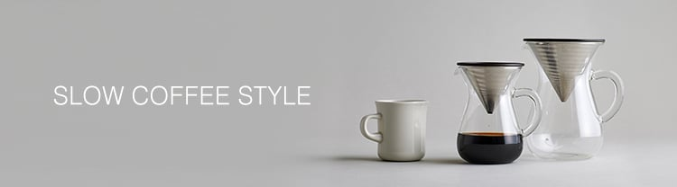 KINTO SLOW COFFEE STYLE COLLECTION BANNER