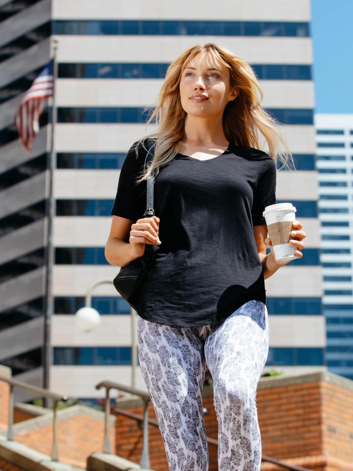 Women's Bamboo Longline T-Shirt - tasc Performance
