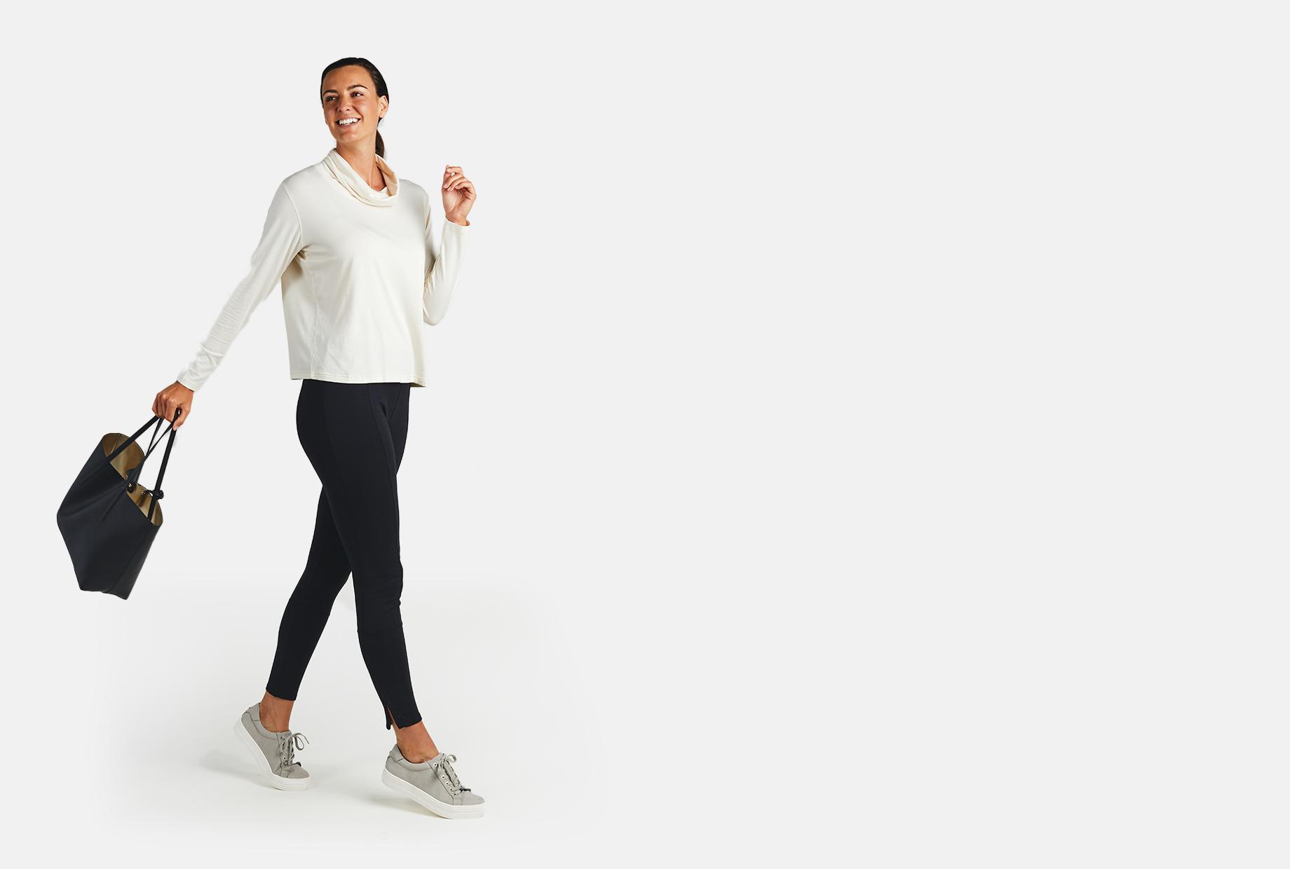Women's bamboo Integrated Tech Skinny Pant - tasc Performance