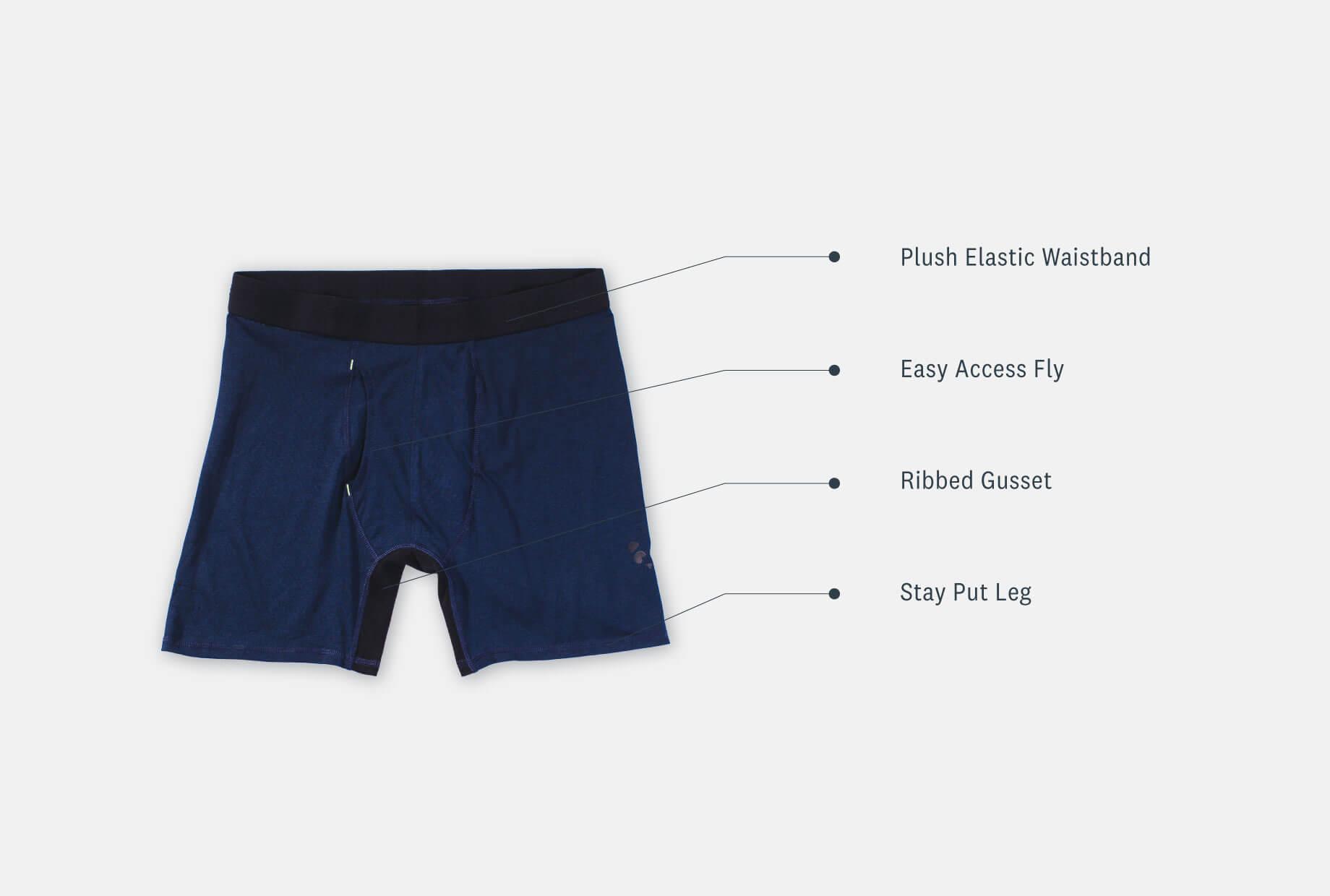 Men's Bamboo Bam(Bare) Boxer Brief Underwear