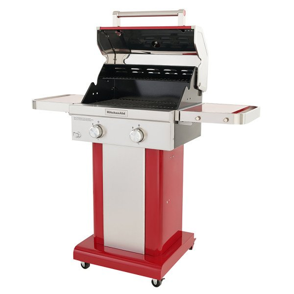 2 Burner Propane Gas Grill Red