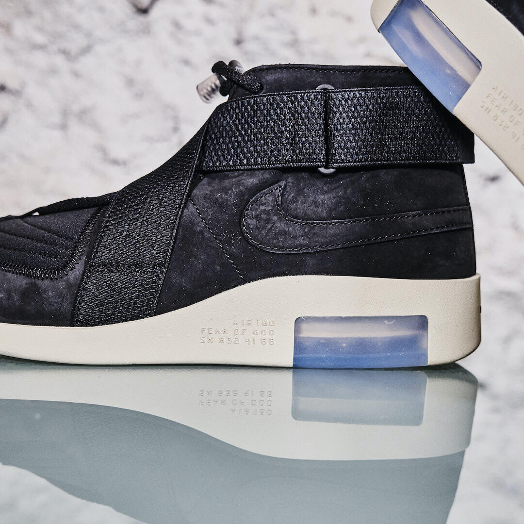 Nike Air Fear Of God Raid Black Fossil - AT8087-002