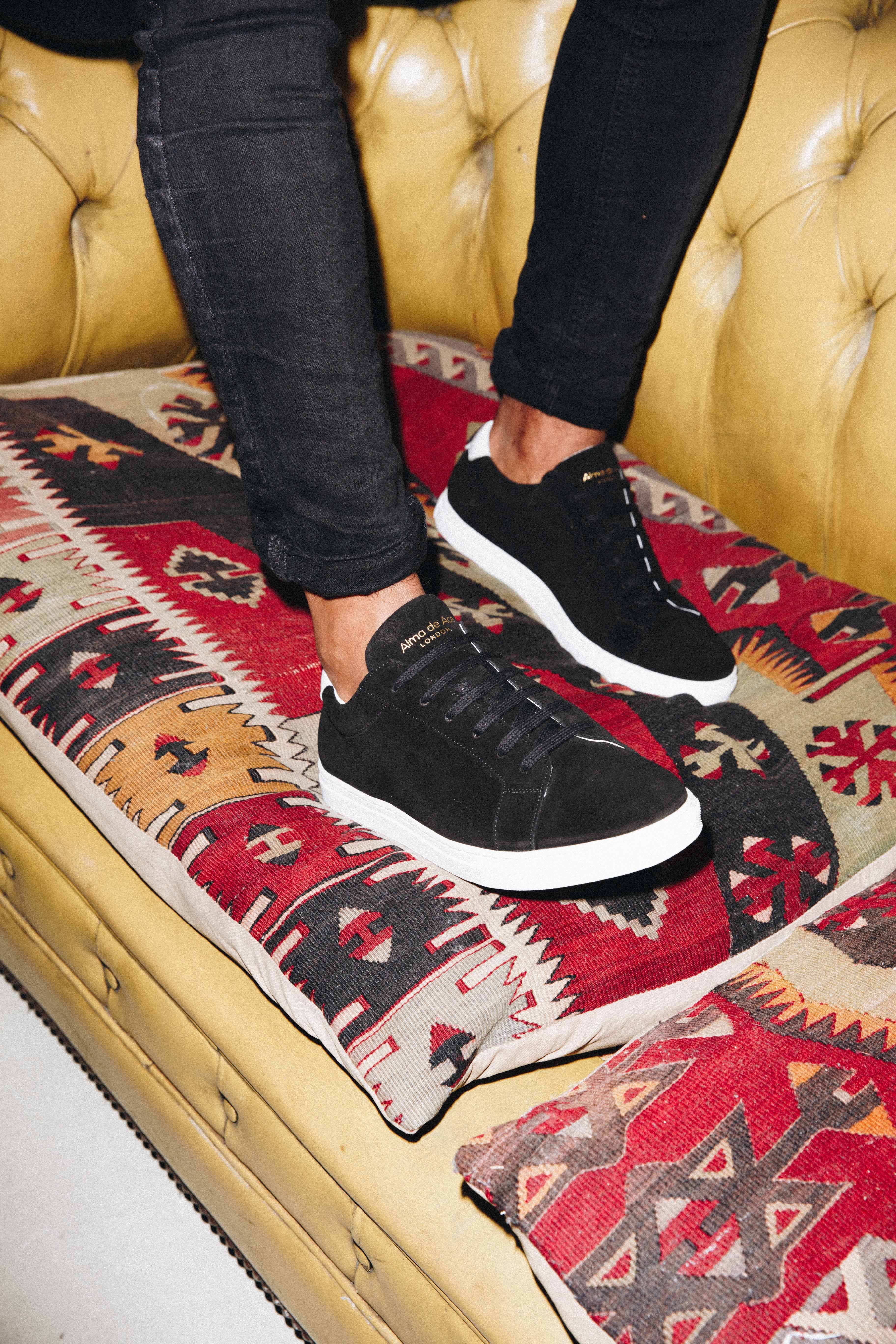 The Black Suede Original Sneaker