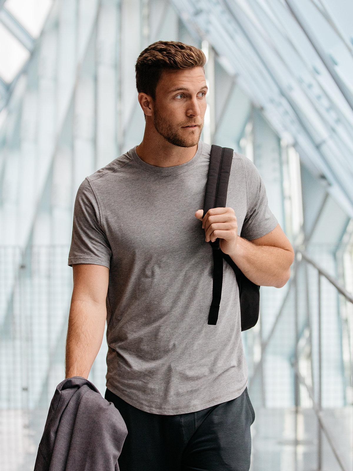 Men's bamboo Freestyle T-shirt - tasc Performance