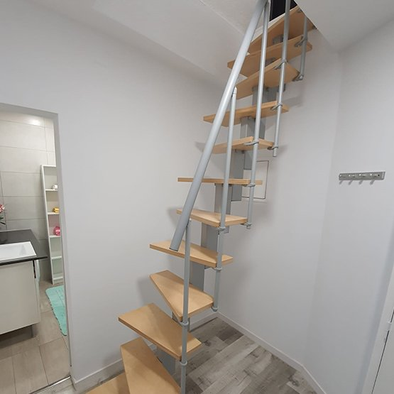 Escadas de Sotão e Terraço