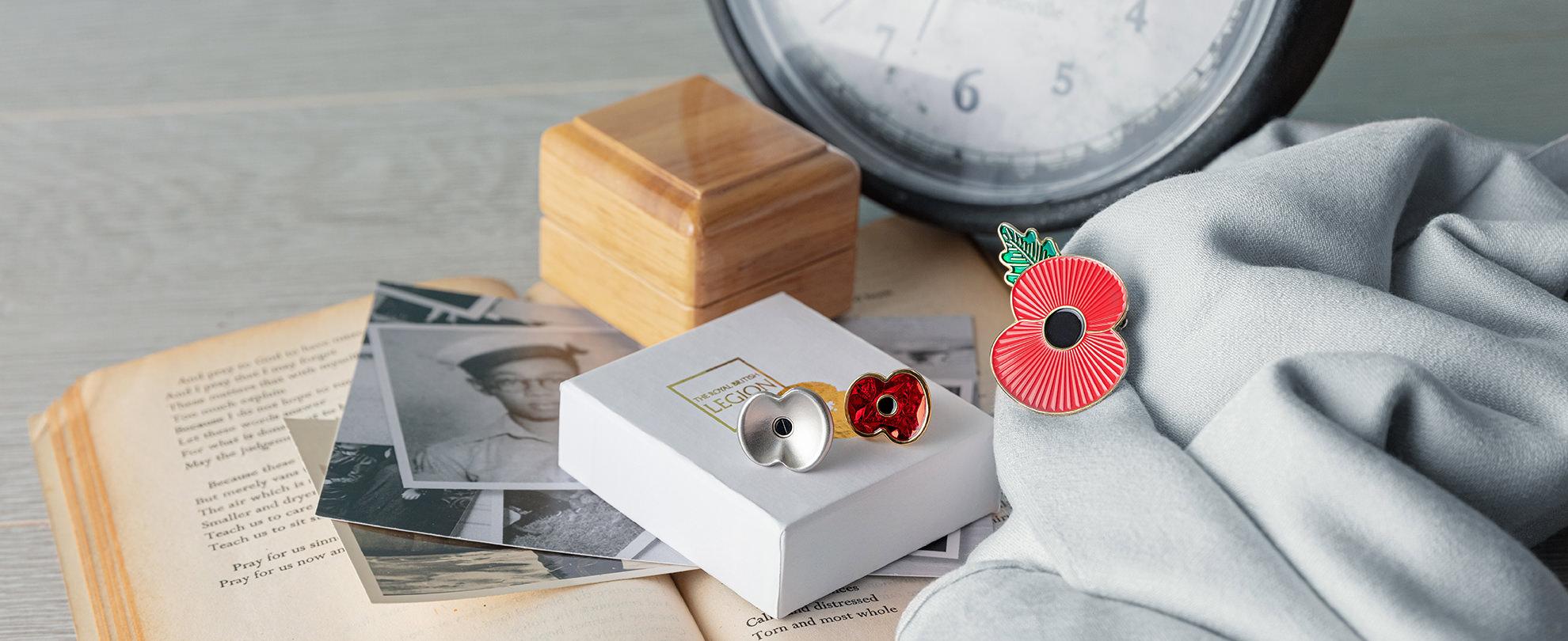 Poppy Pins & Badges