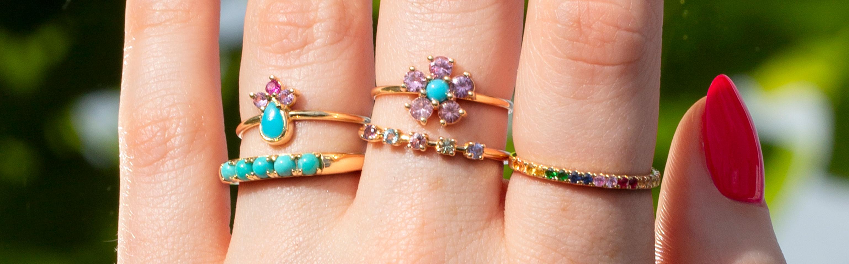 Bold Gemstone Rings