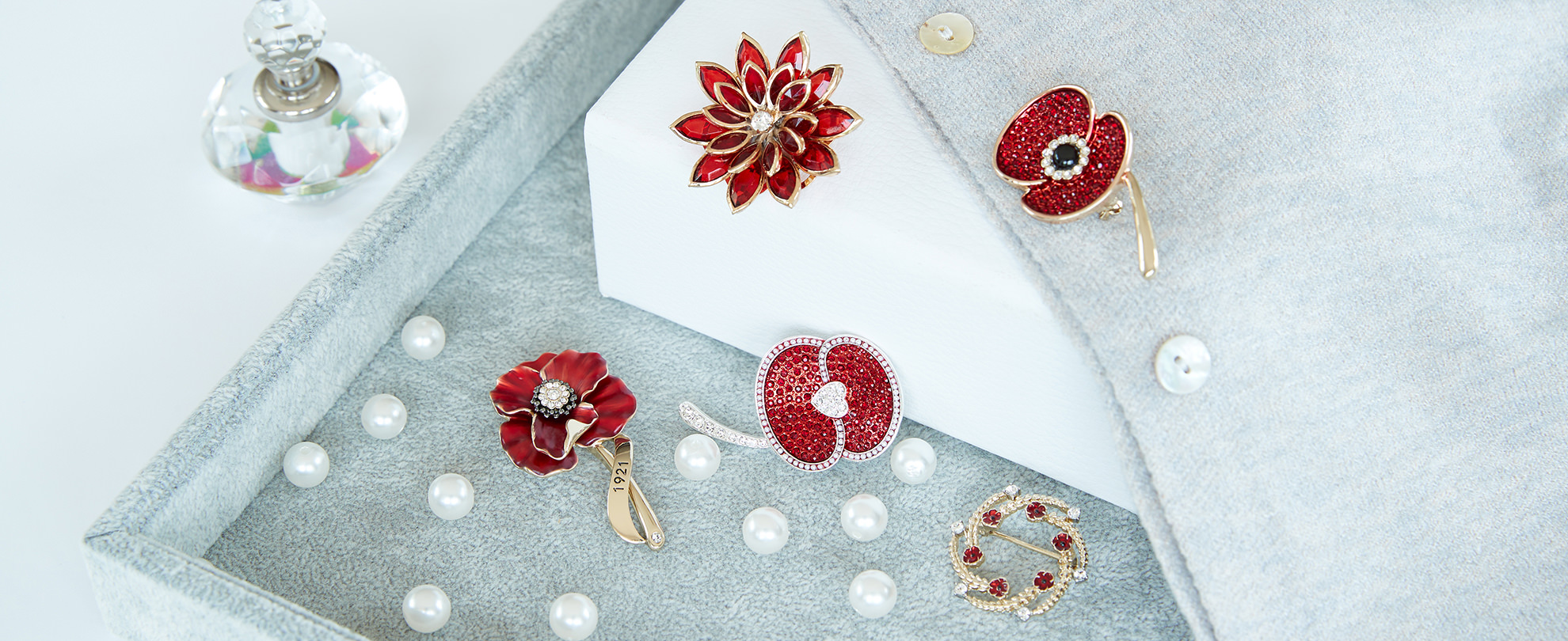 Poppy Pins & Brooches