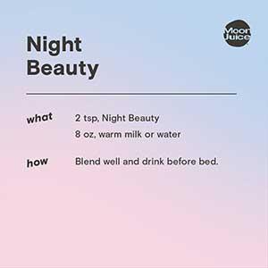 night beauty adaptogenic powder