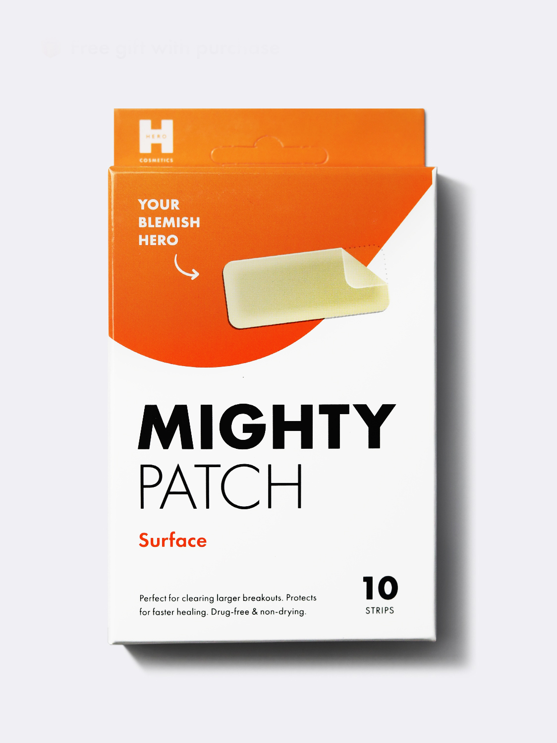 box of Mighty Patch Surface