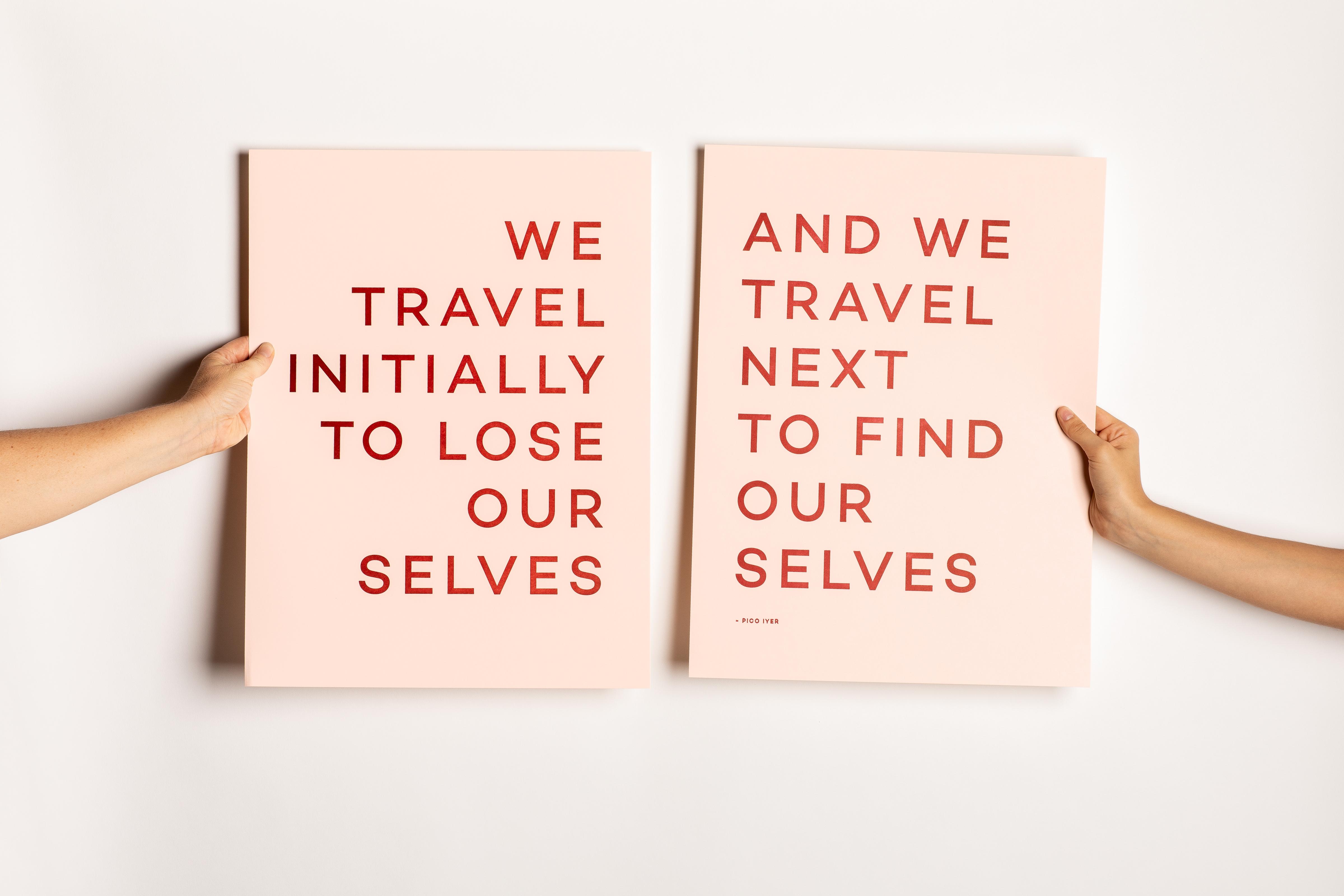 Travel Quote Print No. 1 Wholesale