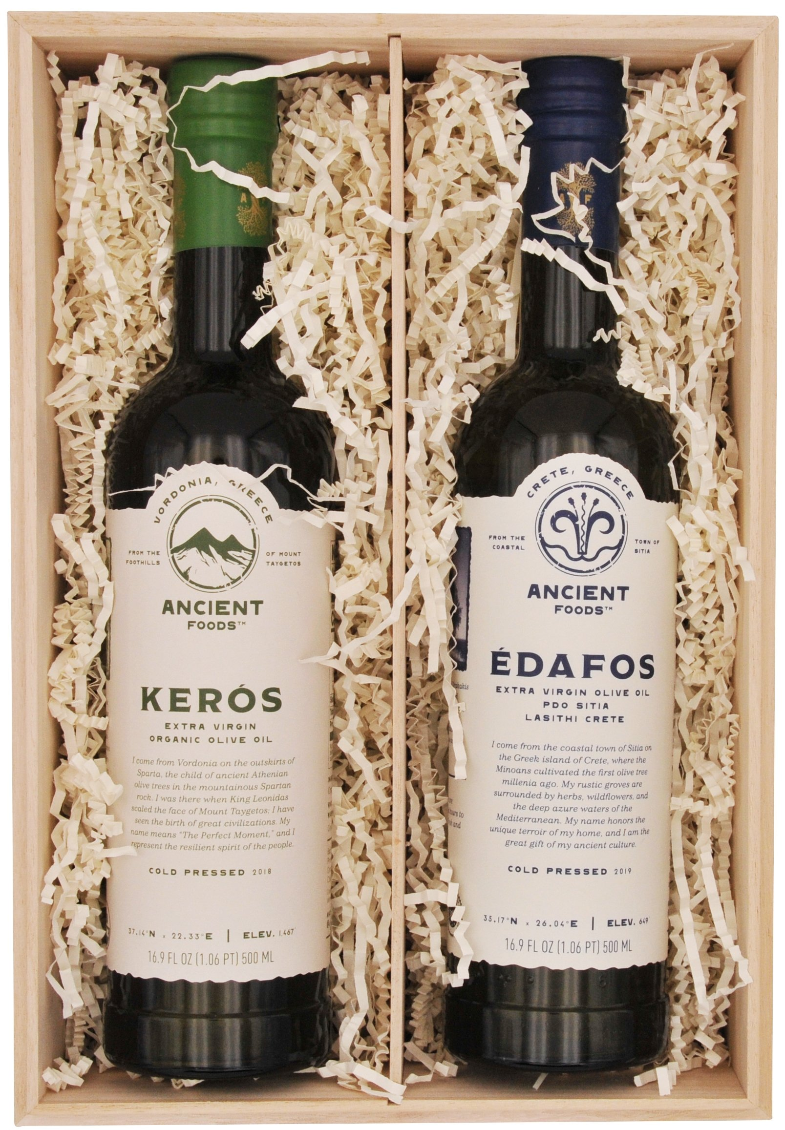 Gift Box: 2 Olive Oil Bottles