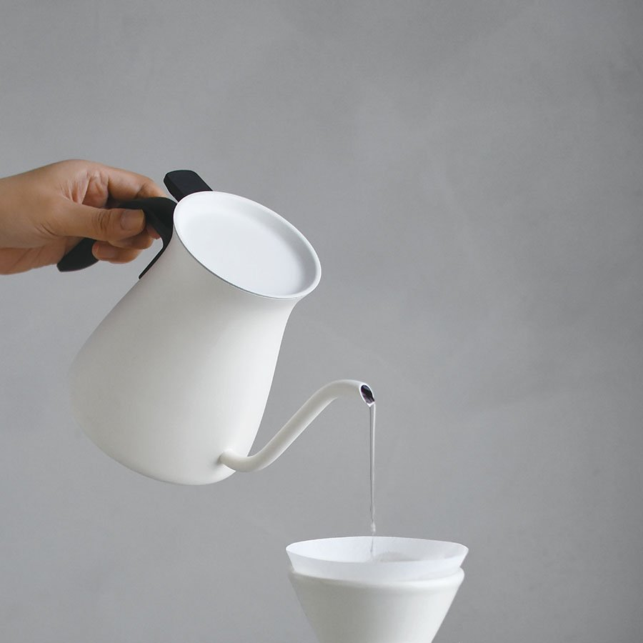 KINTO POUR OVER KETTLE 900ML WHITE