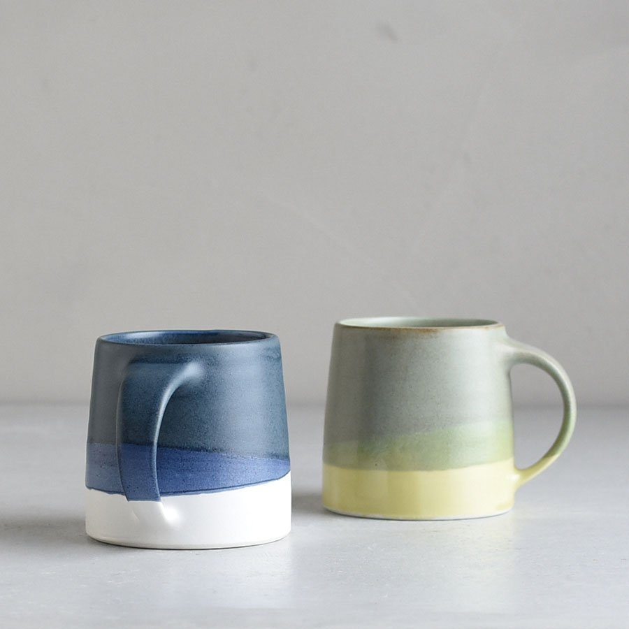 KINTO SCS-S03 MUG 320ML MOSS GREEN X YELLOW