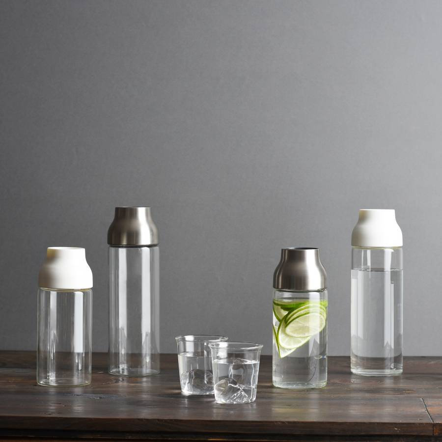 KINTO CAPSULE WATER CARAFE 1L WHITE THUMBNAIL 1