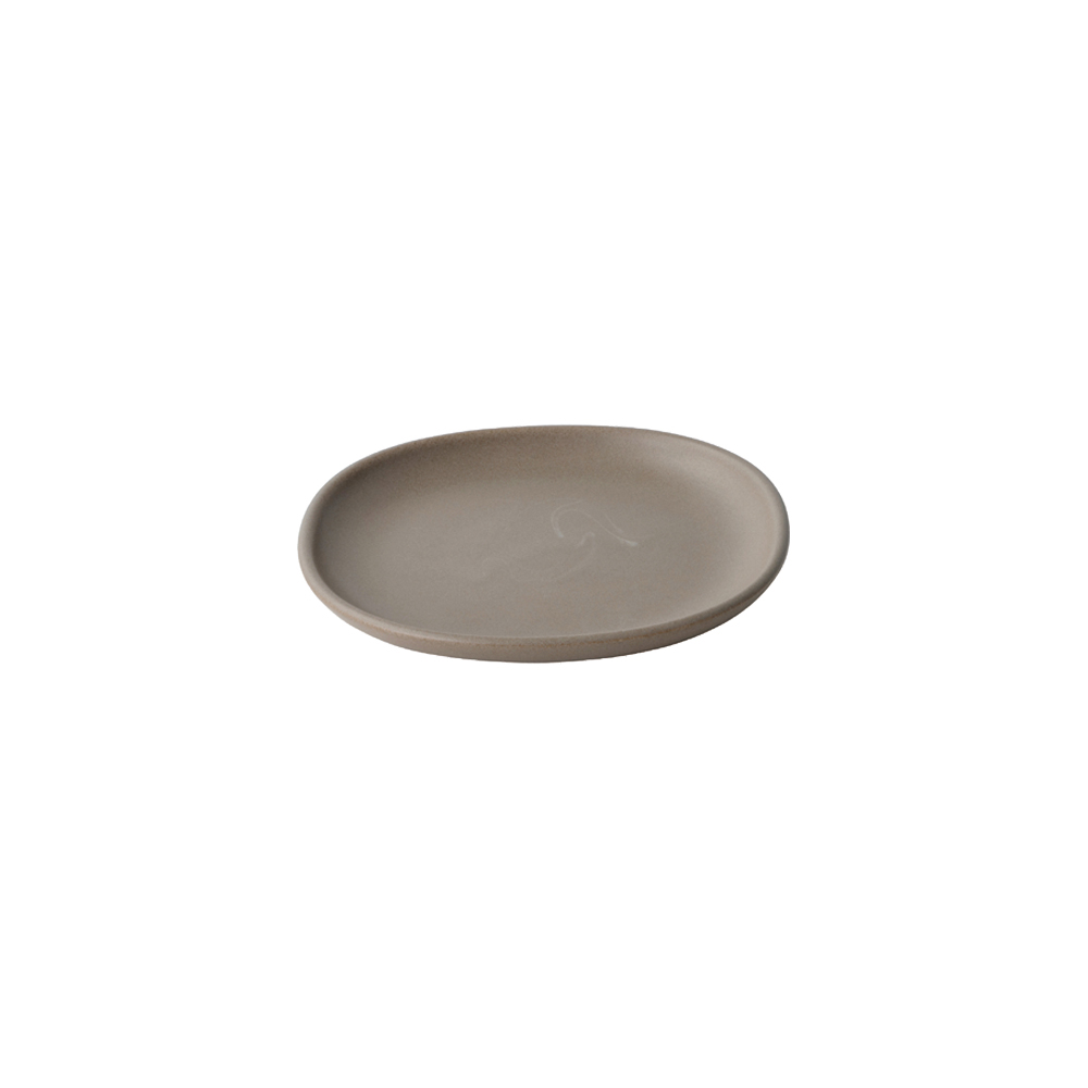 KINTO NEST SQUARE PLATE 165MM BROWN THUMBNAIL 5