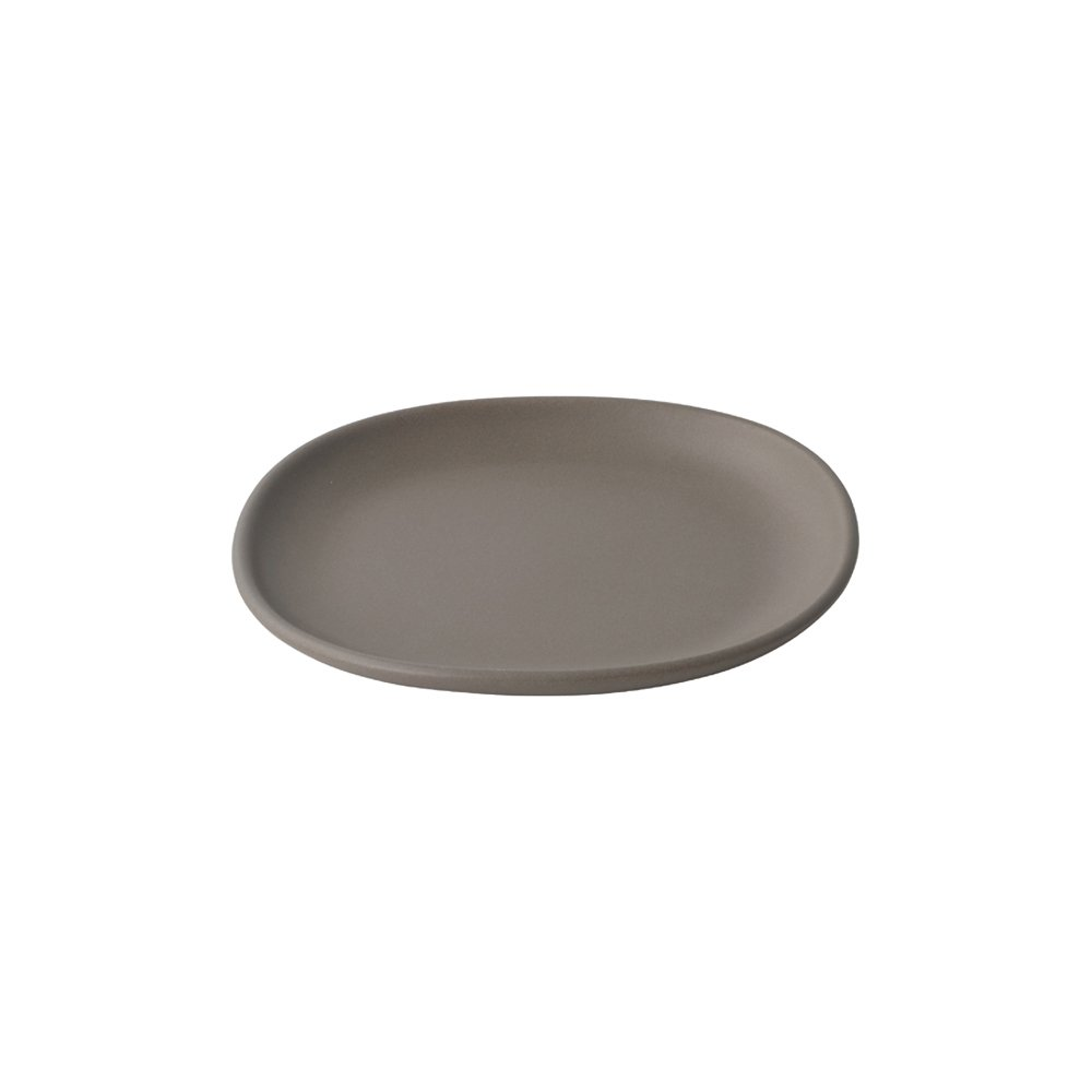 KINTO NEST SQUARE PLATE 210MM BROWN THUMBNAIL 7