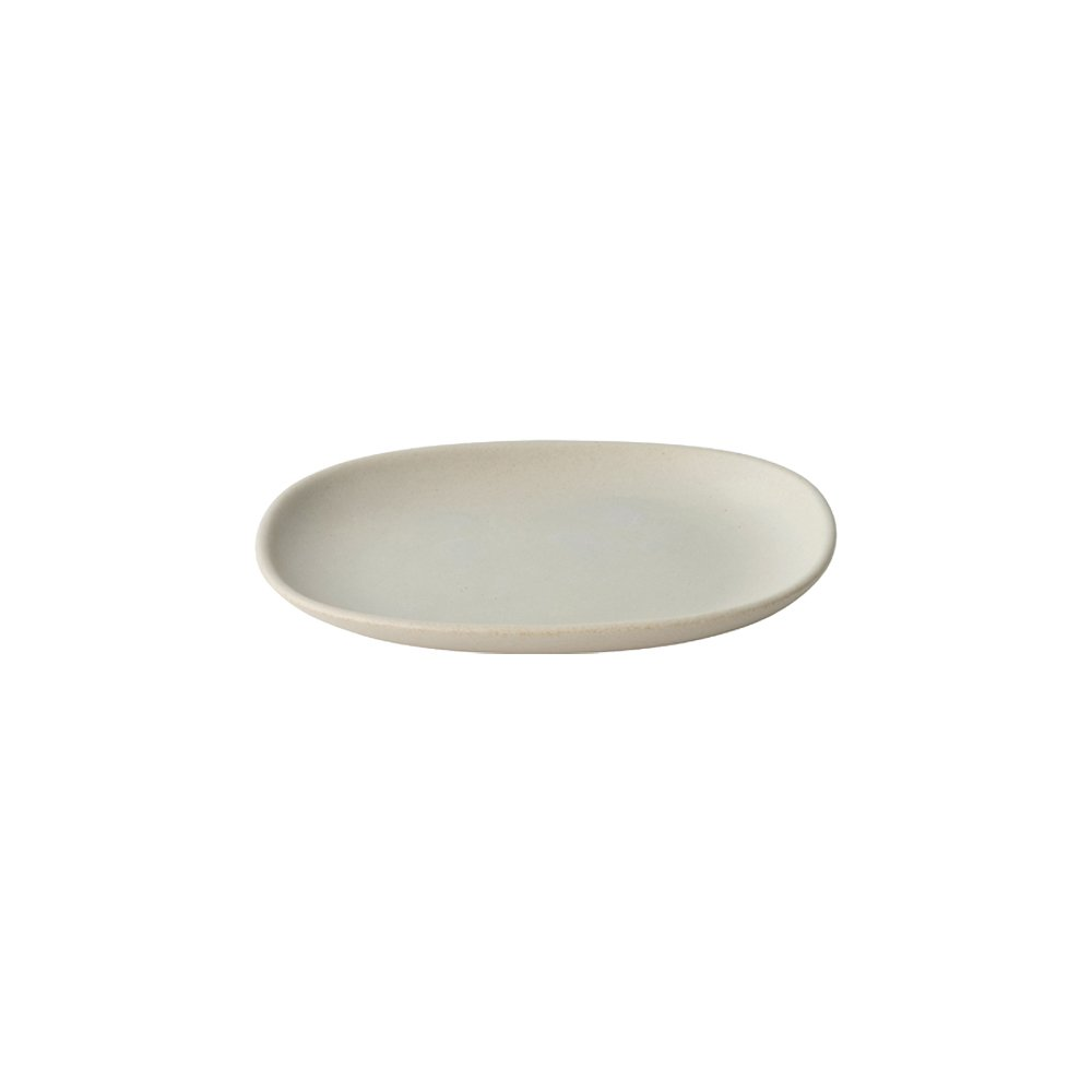 KINTO NEST RECTANGLE PLATE 195MM LIGHT GRAY THUMBNAIL 1
