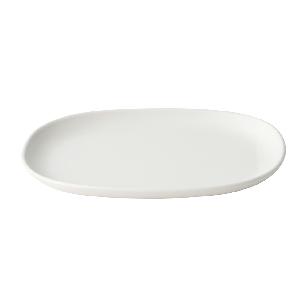 KINTO NEST RECTANGLE PLATE 315MM WHITE