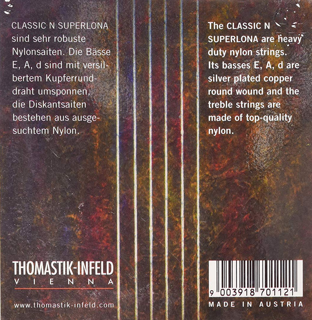 Thomastik Classic N Superlona CR127 Guitar Strings in action