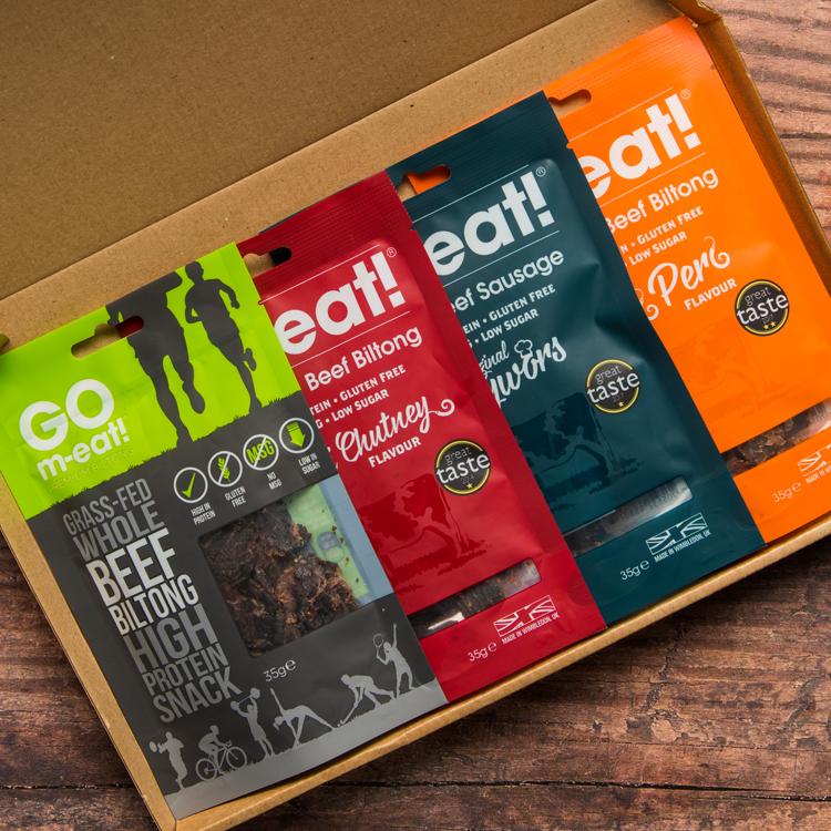 Biltong Box - The Snack Selection Box