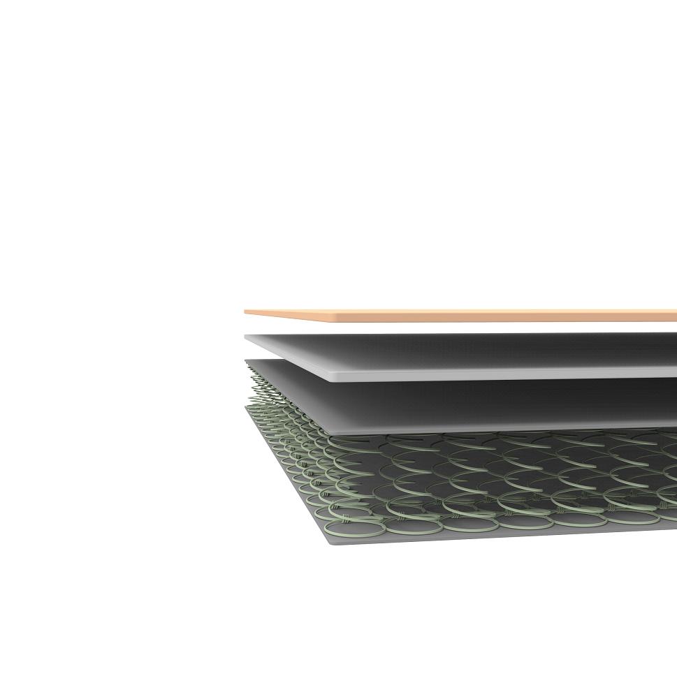 Mint Green Foam Hybrid Spring Queen Mattress Zinus