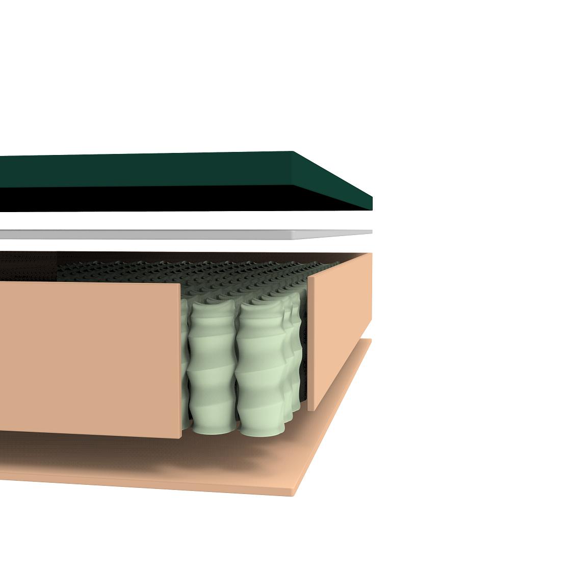 Cooling Hybrid Gel Foam Queen Mattress Zinus