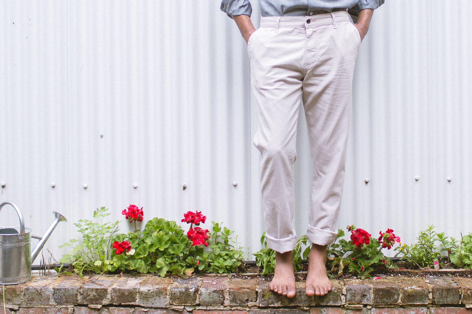 _Tab Jones Canvas Trousers featured image