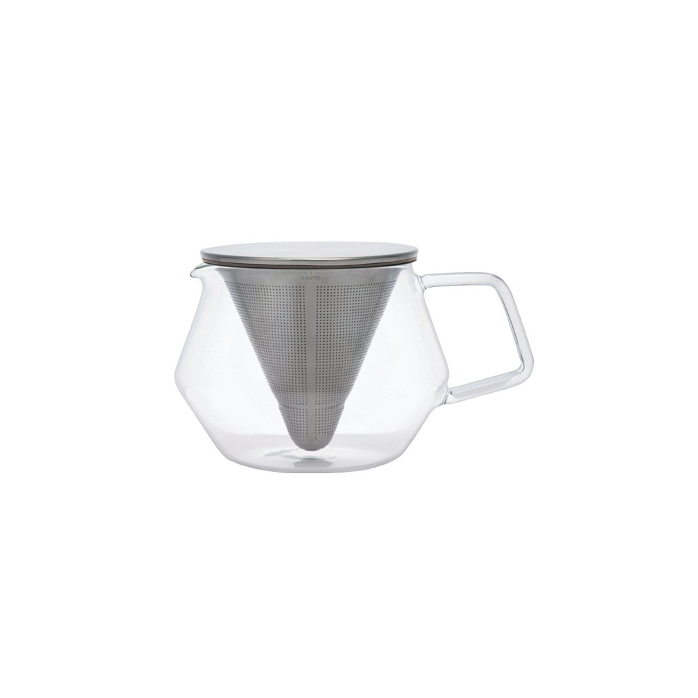 KINTO CARAT TEAPOT 600ML GRAY-NO-COLOR THUMBNAIL 1