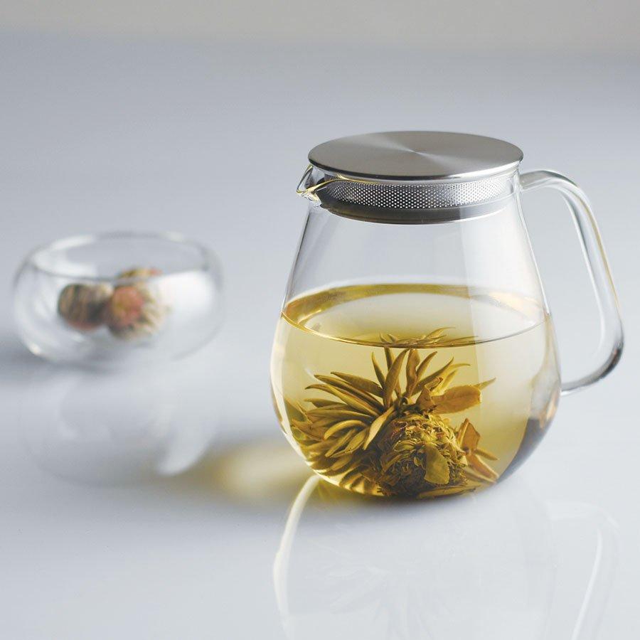 UNITEA one touch teapot 720ml - KINTO Europe