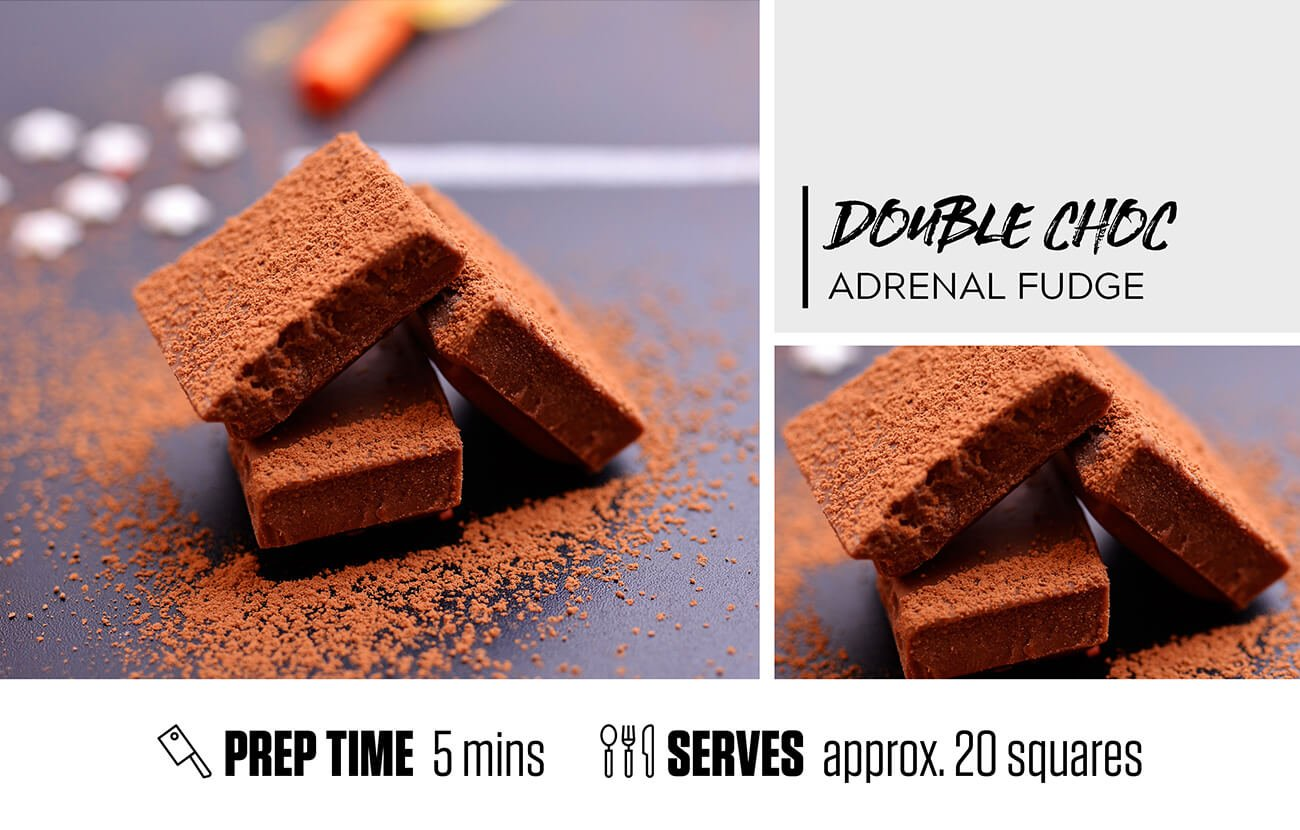 Double Chocolate Adrenal Fudge