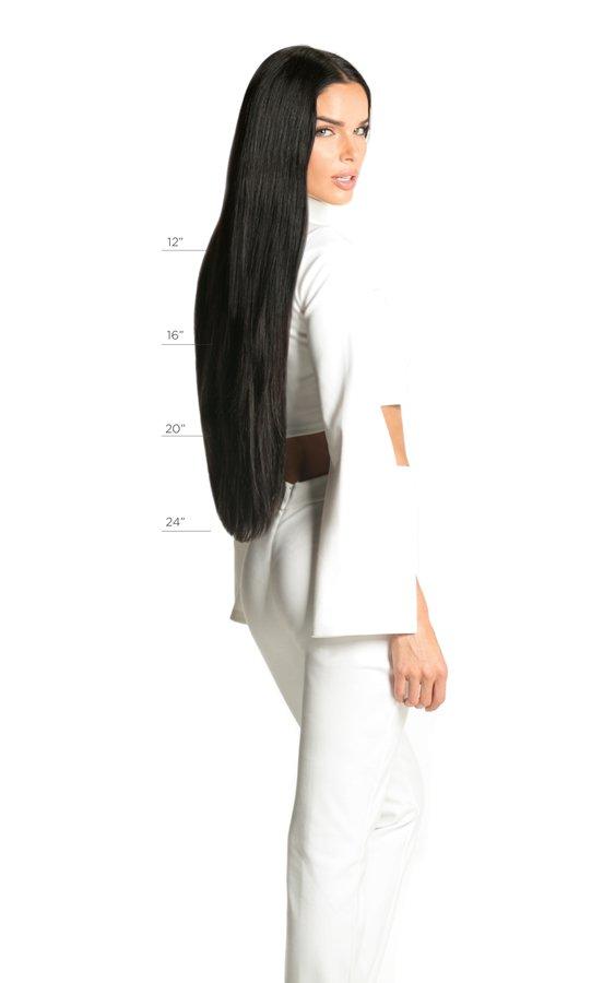 Original Halo® Extension - 6 | Lightest Brown / Darkest Blonde available lengths