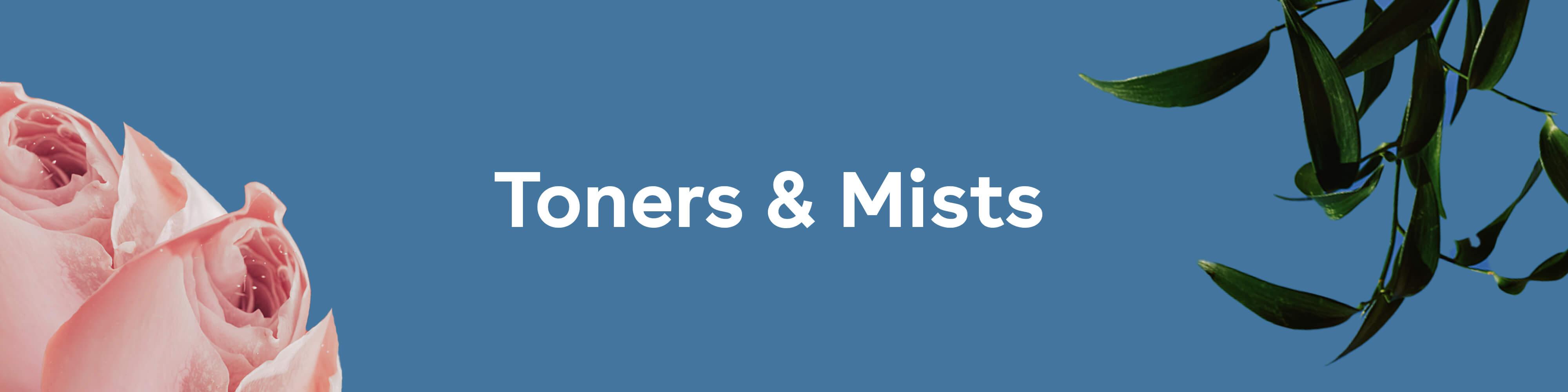 Nuria toners and mists