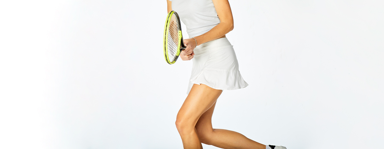 Women's tennis collection - tennis skirts and tops by tasc Performance