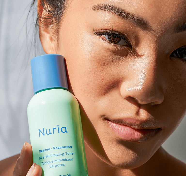 Breakouts and clogged pores can be frustrating. Nuria can help purify skin, minimize pores, and reduce the appearance of breakouts.