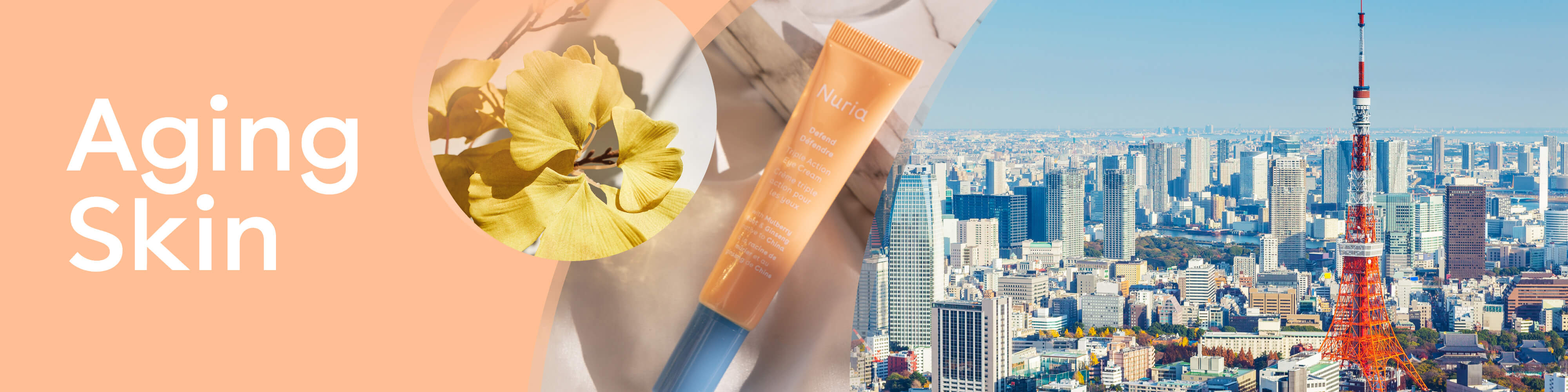 Aging Skin - Nuria's product for your skin concerns