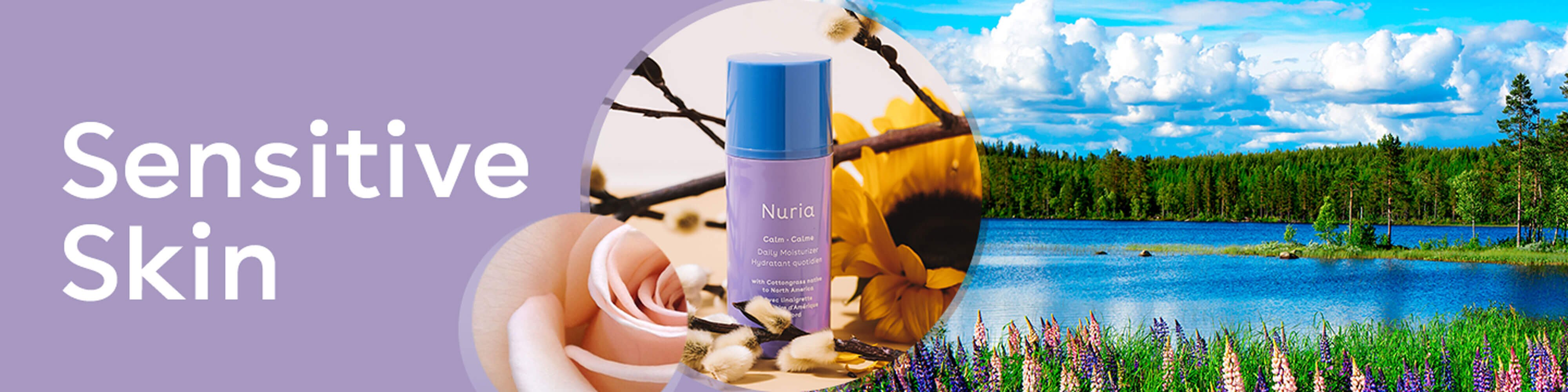Sensitive Skin - Nuria's products for your skin concerns