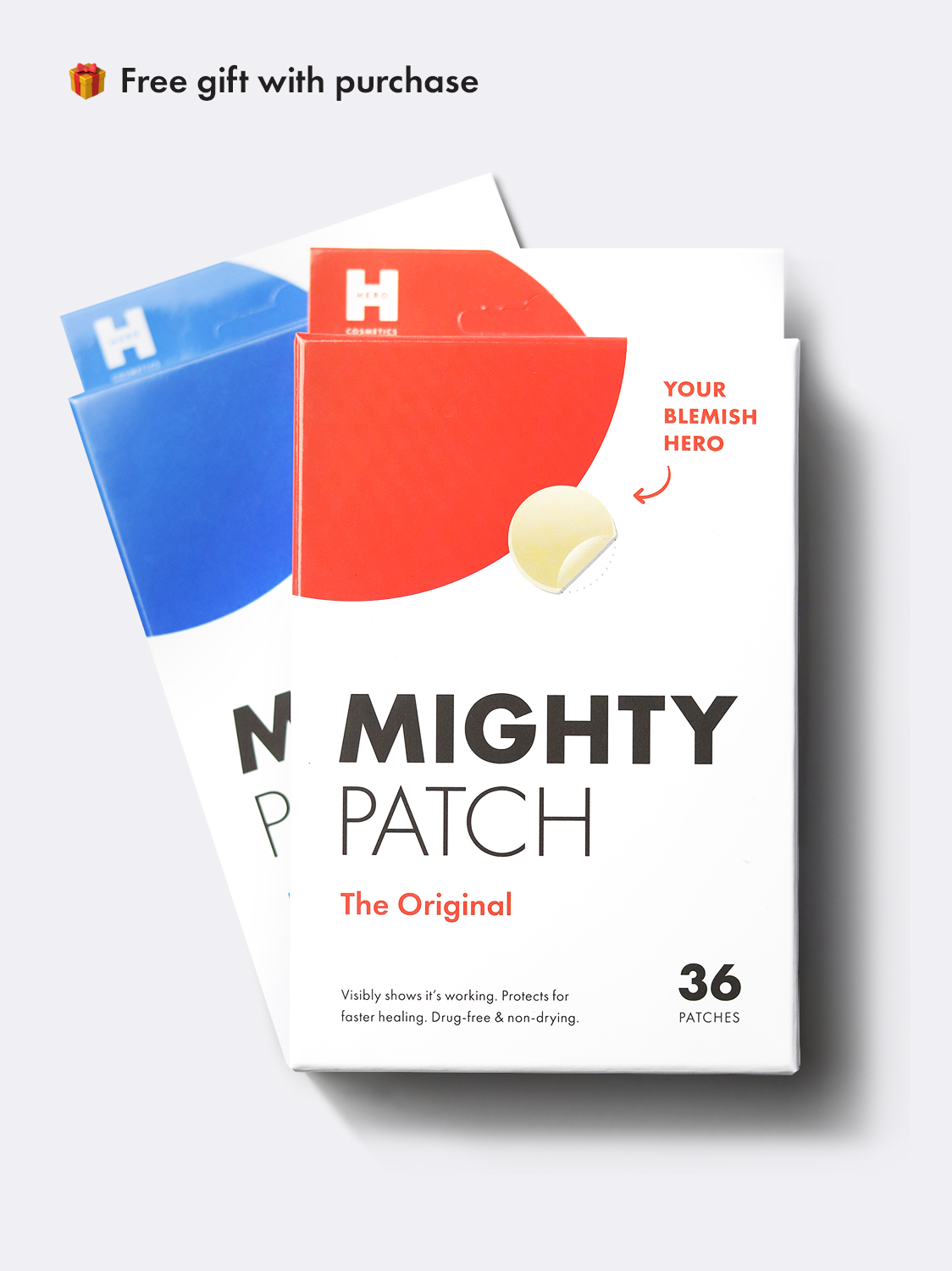 box of Mighty Patch Original and Invisible+