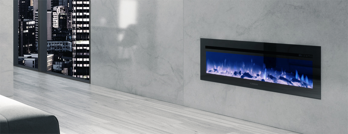"""26"""" Electric Fireplace - Wood"""